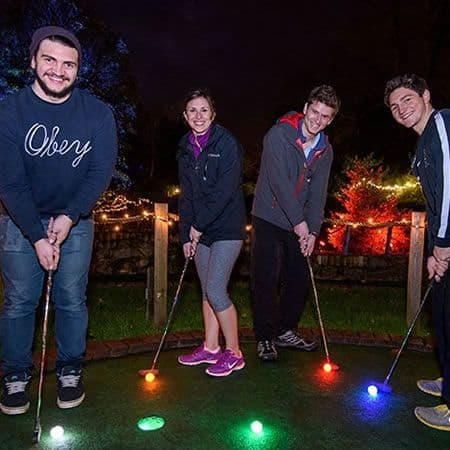 Bath Glow Mini Golf