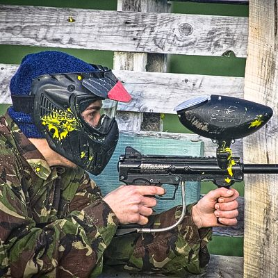bath paintballing