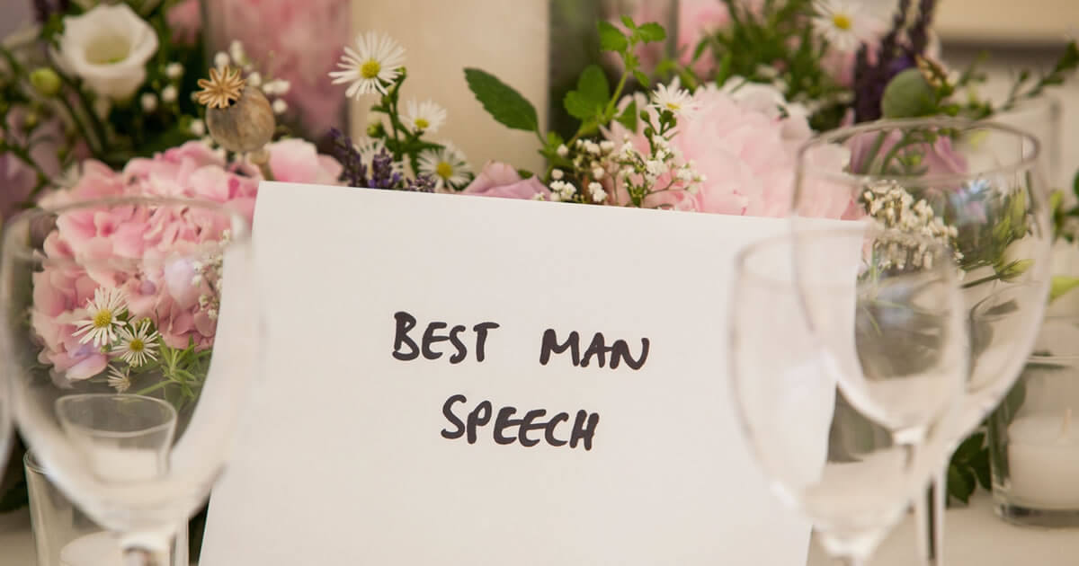 Best Man Speech Guide