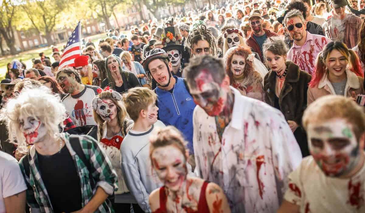 Bristol Zombie Walk Bristol Halloween