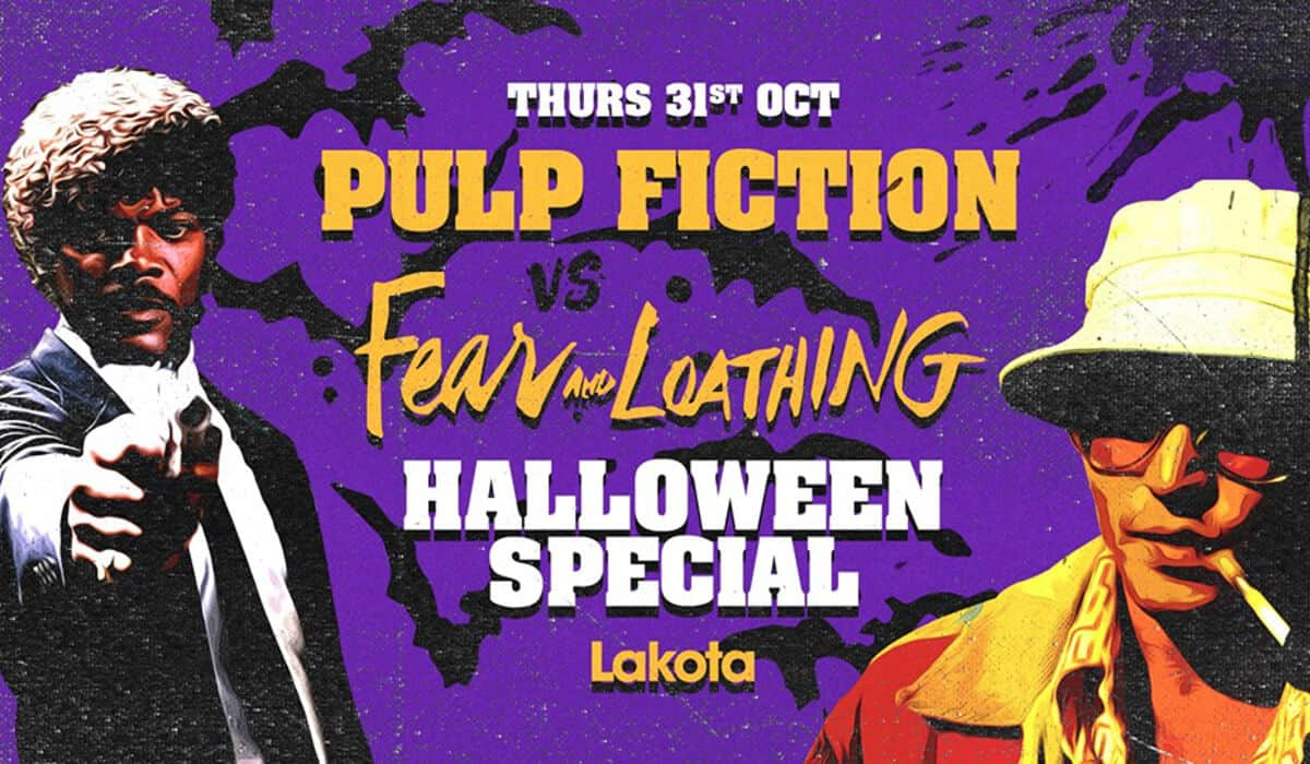 Lakota Pulp Fiction Halloween Bristol