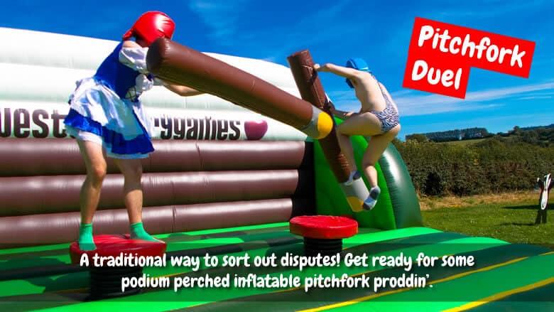 pitchfork duel