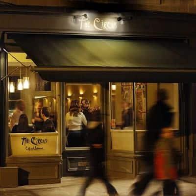 The Circus Restaurant Bath