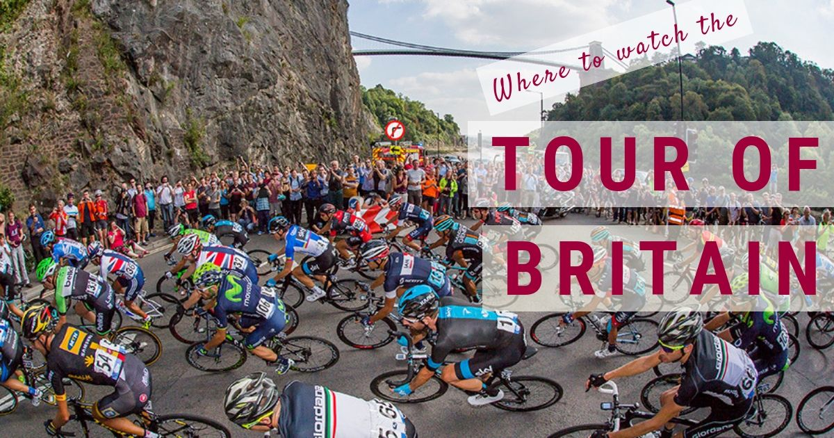 Tour of Britain – Top 6 places to see the cycling in Bristol