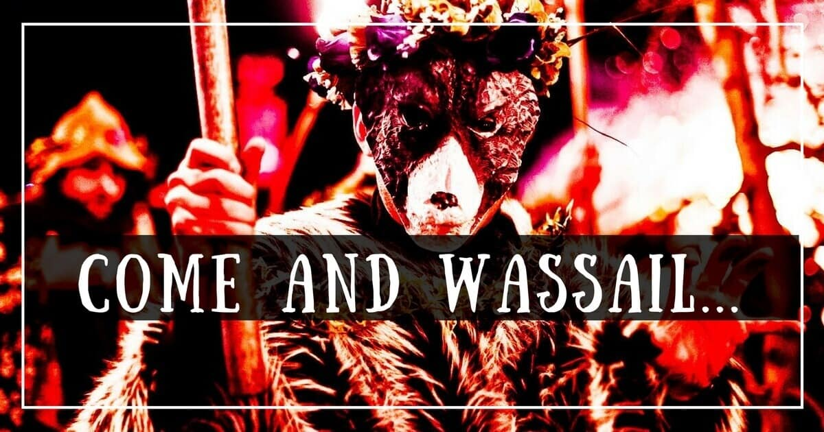 Wassailing this winter in the West Country